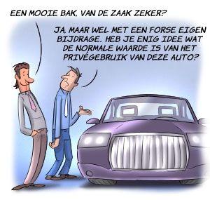 Bijtelling privé gebruik auto in combinatie met buitenland